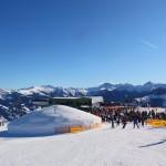 Der Schnee-Iglu an der Gondel-Bergstation