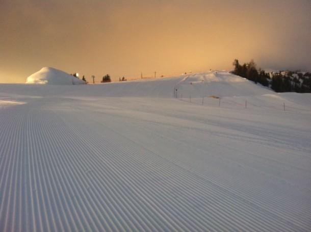 Top Skipiste und Top Snowpark Großarltal - Aufnahme von vorgestern