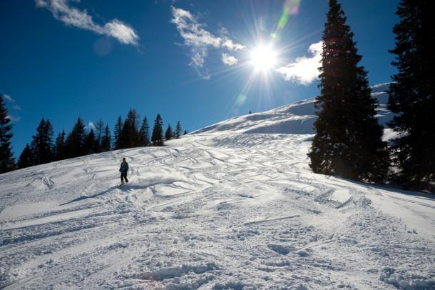 Skisport wird hier bereits seit den 30er Jahren ausgeübt.