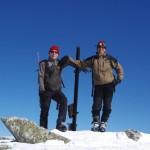 Wenn´s auch nicht der K2 ist, sie waren oben!