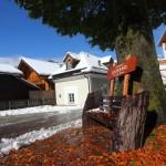 Schneefrei geblieben - wirkt bei Sonnenschein gleich wieder einladender