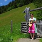 Aufstieg am Salzburger Almenweg