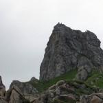 Geschick, Vorsicht und sicheres Klettern sind Voraussetzung für diese gefährliche Arbeit