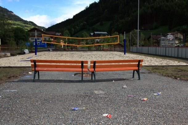 Beach-Volleyball-Platz Großarl
