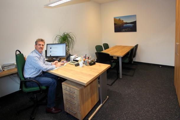 Mein Reich - das Büro der Geschäftsführung