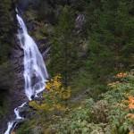 Es wird Herbst am Kreealmwasserfall