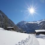 Ein Wintertraum im Talschluss von Hüttschlag