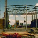 Bau Bergstation Panoramabahn 10.08.1990