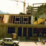Bau Talstation Panroamabahn 10.08.1990