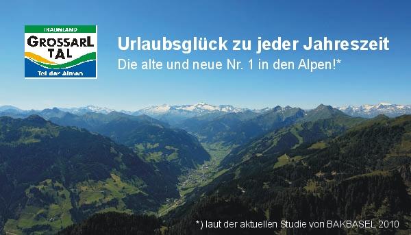 Das Großarltal im Salzburger Land