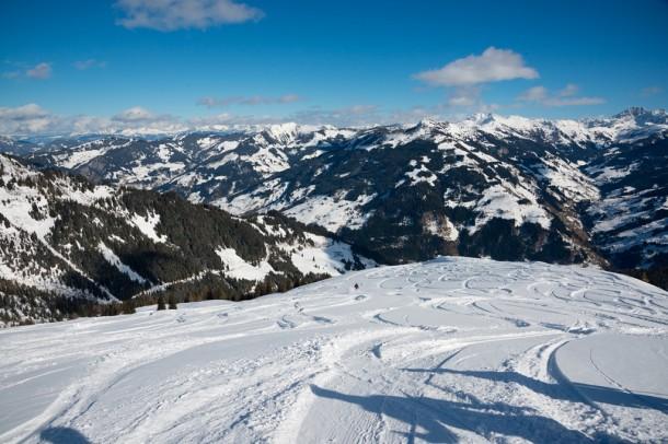 """Tour Retour in die Roslehenalm (""""Berglandgebiet"""") - Einfahrt ins Skivergnügen"""