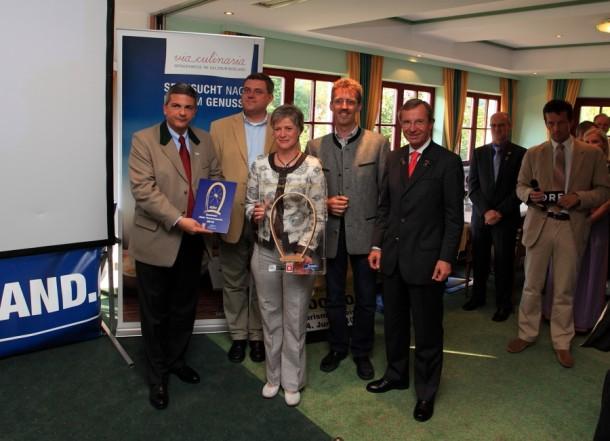 Verleihung Zipfer-Tourismuspreis 2010