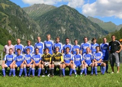 Die Kampfmannschaft  des USV Hüttschalg 2010 -2011