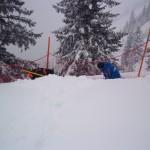Viel Schneearbeit für die Bergbahnenmitarbeiter