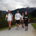 Mit dem Wetter im Nacken gingen die letzten Kilometer wie von selbst. Alle kamen täglich trocken ans Ziel.