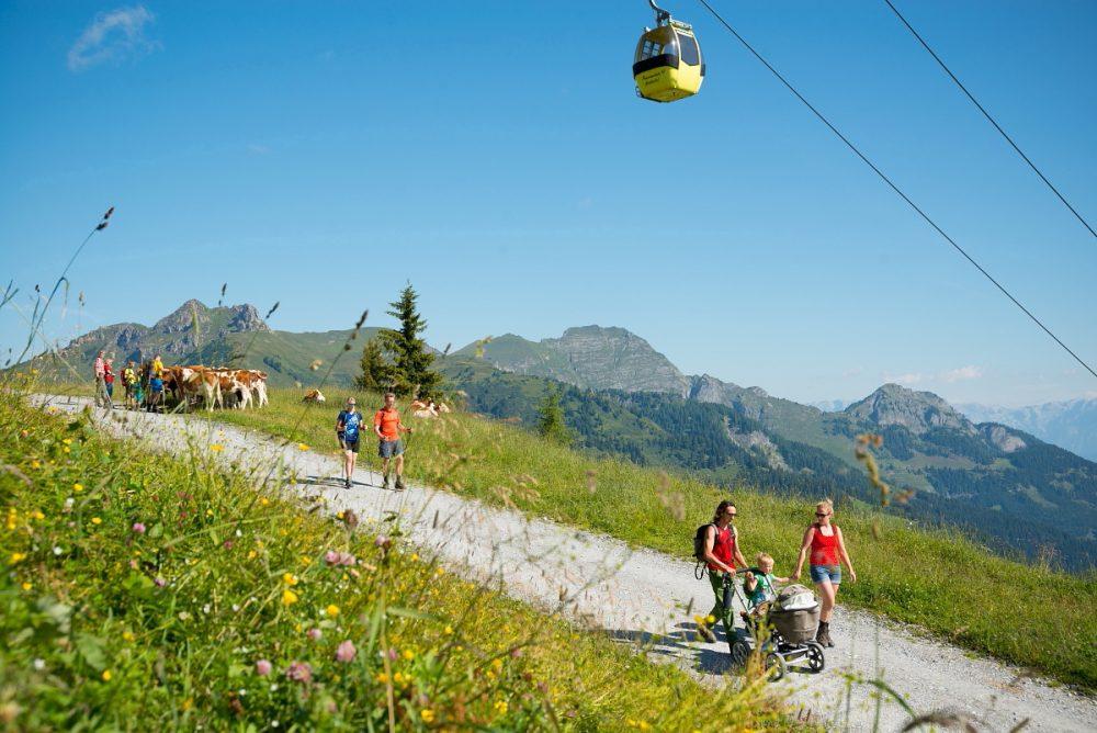 Seilbahnwandern mit der SalzburgerLand Card
