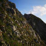 Das Gipfelkreuz am Draugstein