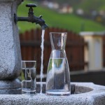Herrliches Trinkwasser - frisch aus der Leitung