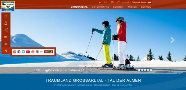 Website 2015 Startseite Winter