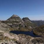 Oberer Schwarzsee mit Blick zum Frauennock