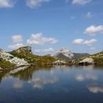 Unbenannter See nahe dem Murtörl mit Blick zum Weißeck