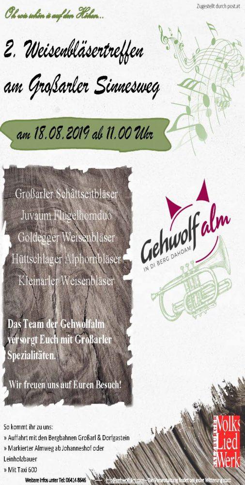 Veranstaltungen Tourismusverband Groarltal