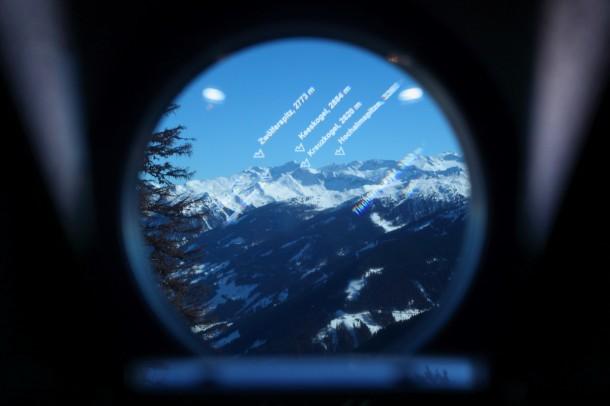 Wildererplatzl Großarltal - Blick auf ein paar der vielen Berge des Nationalparks Hohe Tauern