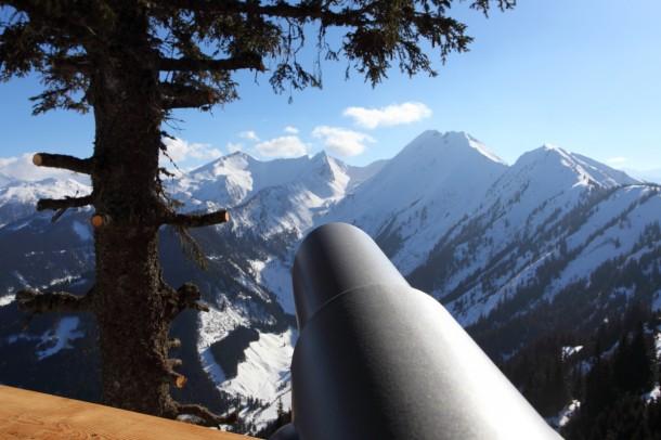 Wildererplatzl Großarltal - Blick in ein Meer von Bergen