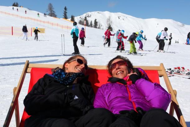 Ski, Schnee und Sonne. Herz was willst du mehr!