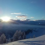 Über dem Himmelreich schweift von unserem Skigebiet aus der Blick nach Hüttschlag in den Nationalpark Hohe Tauern