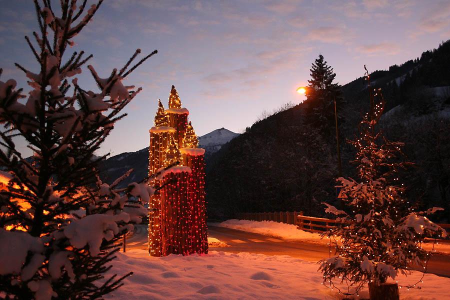 "Adventsymbol des ""Salzburger Bergadvent"""