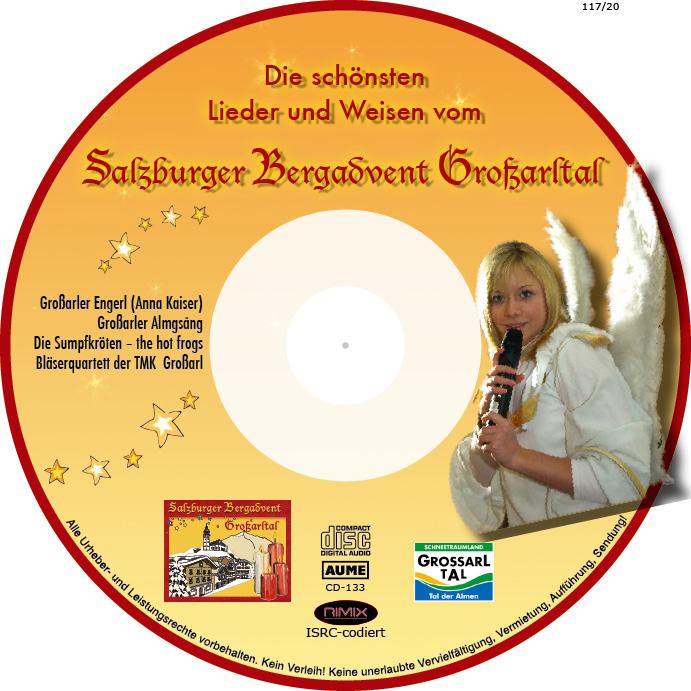 """CD """"Die schönsten Lieder und Weisen vom Salzburger Bergadvent"""""""