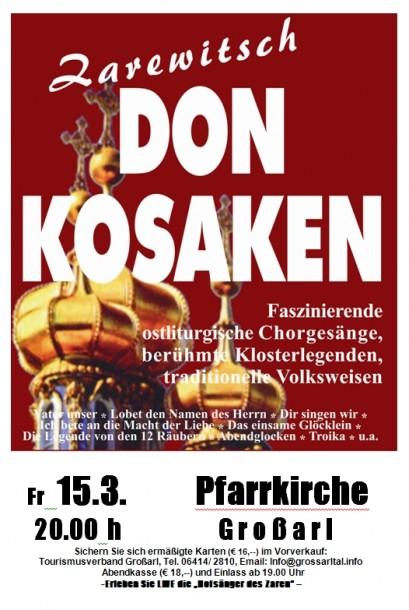 Zarewitsch Don Kosaken