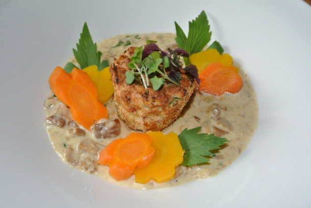 Rezepttipp aus der Nesslerhof-Küche: Eierschwammerl in Rahm mit Semmelsoufflé