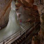 Eisskulptur in der Höhle - © Eisriesenwelt GmbH