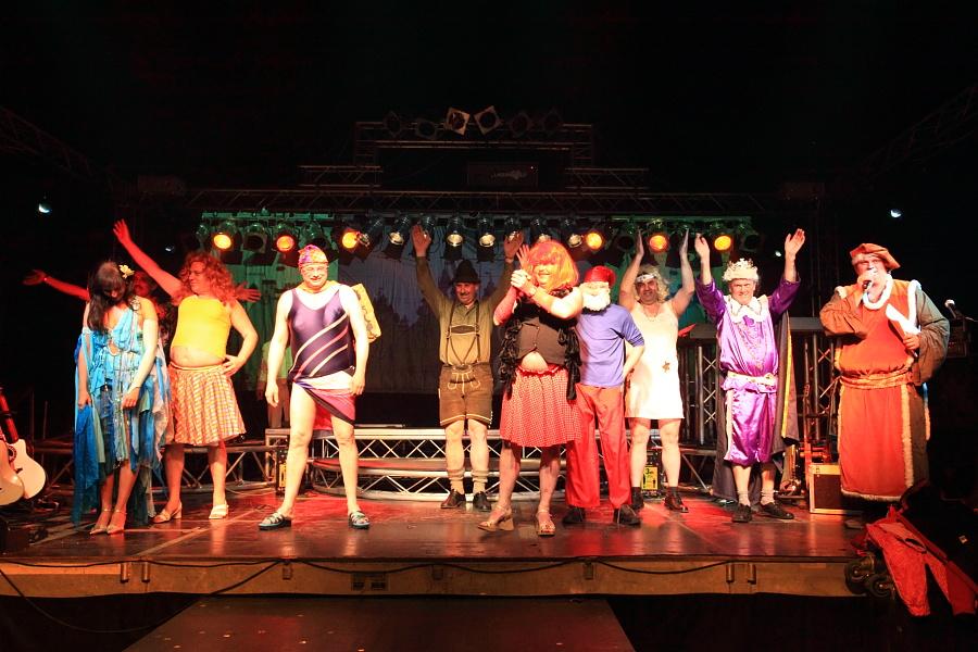 Finale Promi-Show