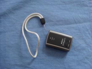 GPS-Gerät zum Erfassen des Loipenprofils