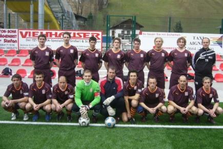 Die Kampfmannschaft des USV Großarl 2010 - 2011