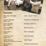 Mitwirkende der Theatergruppe Hüttschlag