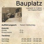 Termine vom Theater in Hüttschlag
