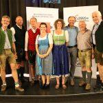 Thomas Wirnsperger, Manfred Neubacher, Hans Rohrmoser, Conny Bürgler, Barbara Meikel, Leo Bauernberger, Hans Toferer und Franz Zraunig - von links nach rechts