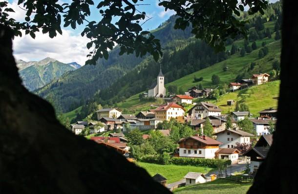 Bergsteigerdor Hüttschlag