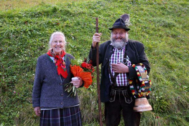 Kathi und Sepp von der Draugsteinalm-Steinmannhütte