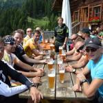 Team Bergzeit auf der Mooslehenalm