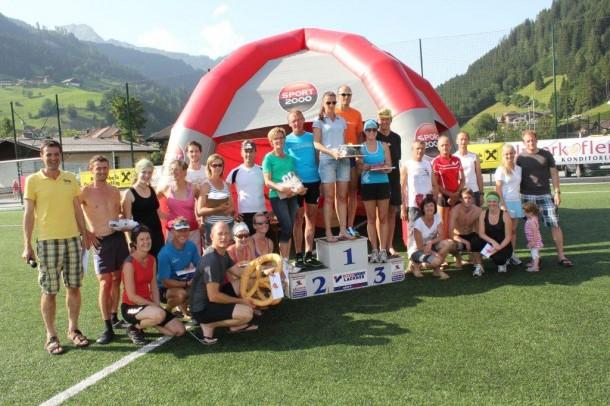 Sieger Sommerlauf Großarl 2012