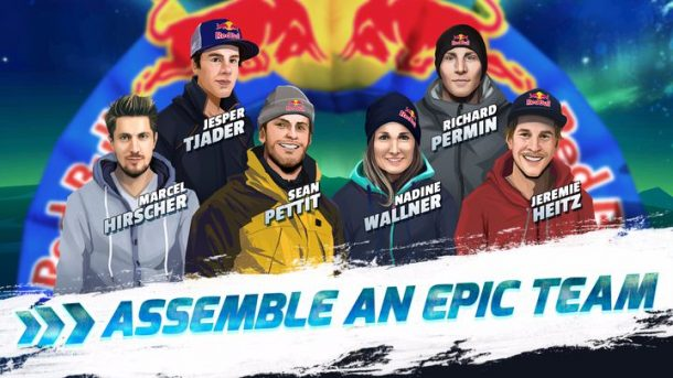 Ski amadé: Red Bull Freeskiing Game - Die Stars