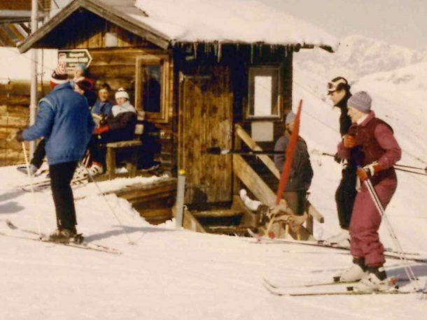 Das war einmal - Bergstation Schlepplift Kreuzkogel Anfang 1980
