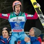 Feierstimmung bei Stefan Kraft: Er gewinnt die Vierschanzentournee