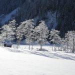 Winterlandschaft im Talschluss von Hüttschlag