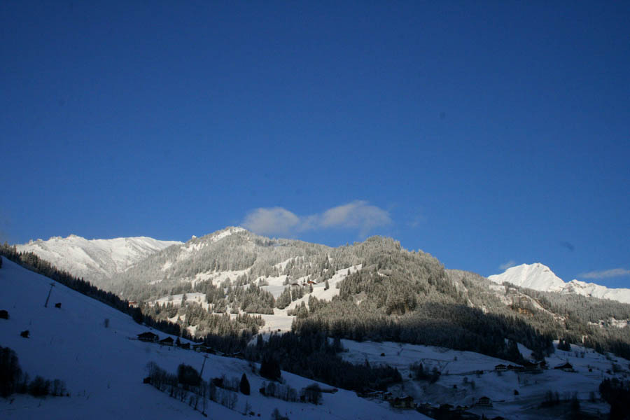 Wintertag - Sonnenaufgang